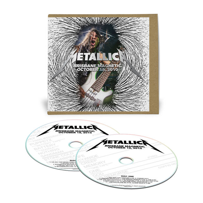 Live Metallica: Brisbane, Australia - October 18, 2010 (2CD), , hi-res