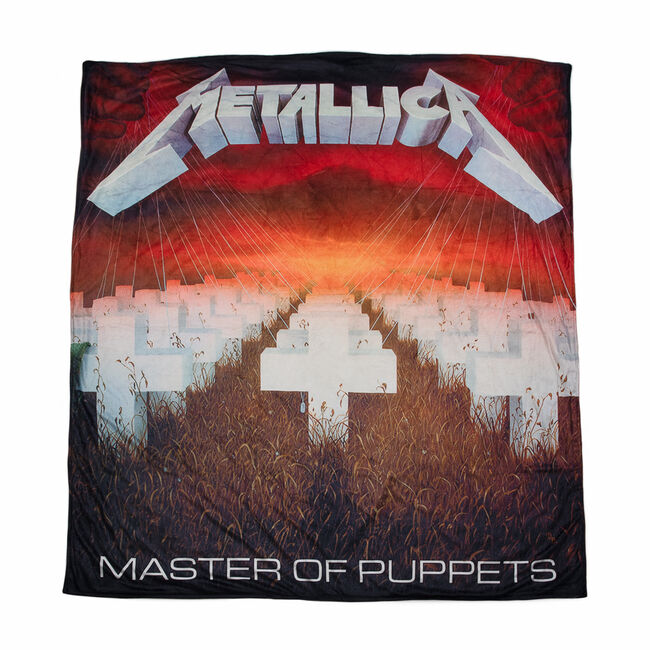 Master Of Puppets Throw Blanket, , hi-res