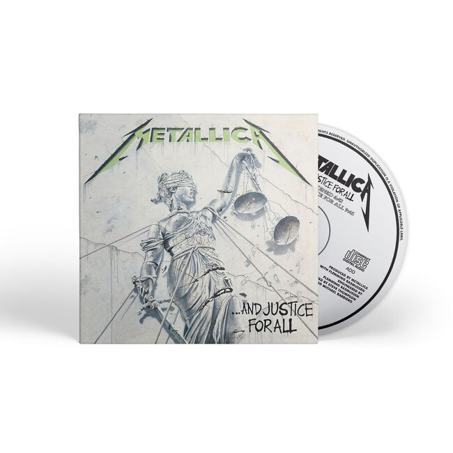 ...And Justice For All (Remastered) - CD, , hi-res