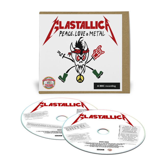 Live Metallica: Glastonbury in Pilton, England - June 28, 2014 (2CD), , hi-res