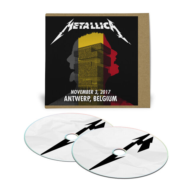 Live Metallica: Antwerp, Belgium - November 3, 2017 (2CD), , hi-res