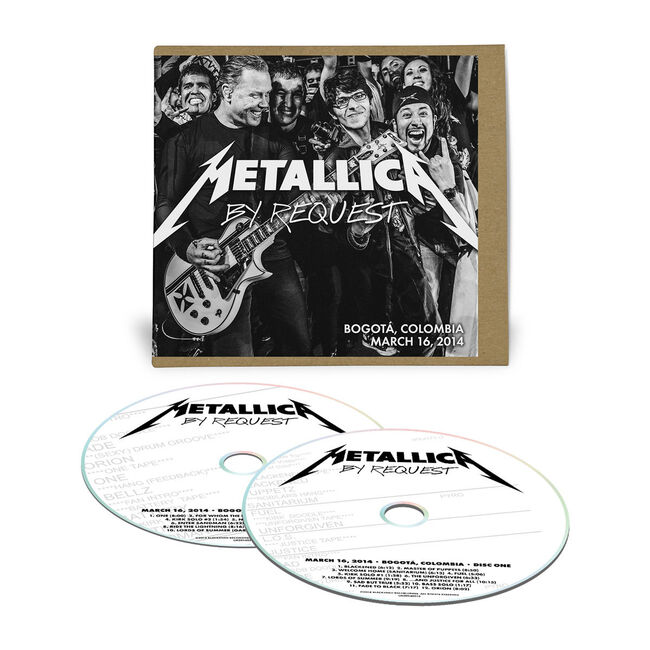 Live Metallica: Bogota, Colombia - March 16, 2014 (2CD), , hi-res
