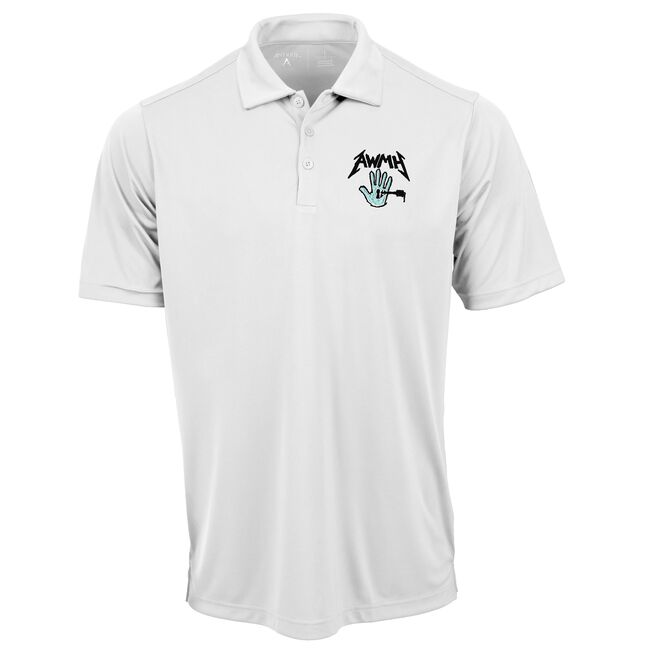 All Within My Hands Polo (White) - 2XL, , hi-res