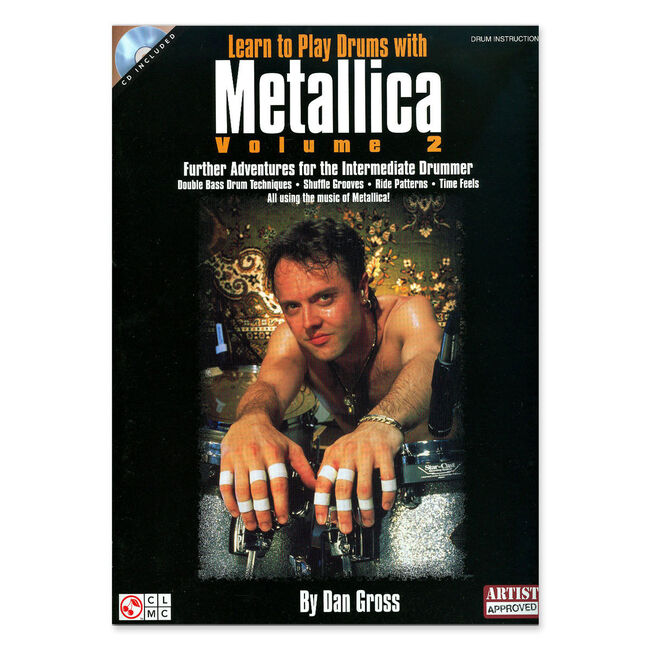 Learn to Play Drums with Metallica, Vol. 2 - Drum Transcription Book, , hi-res