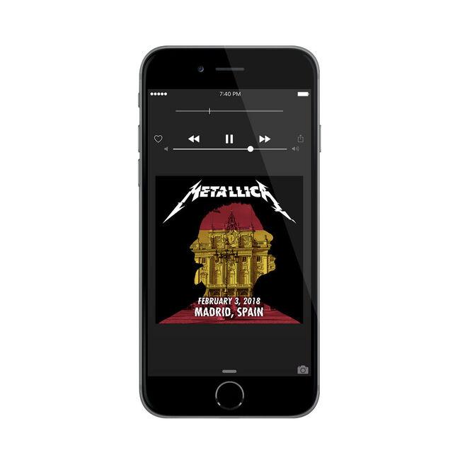 Live Metallica: Madrid, Spain - February 3, 2018 (Digital Download), , hi-res