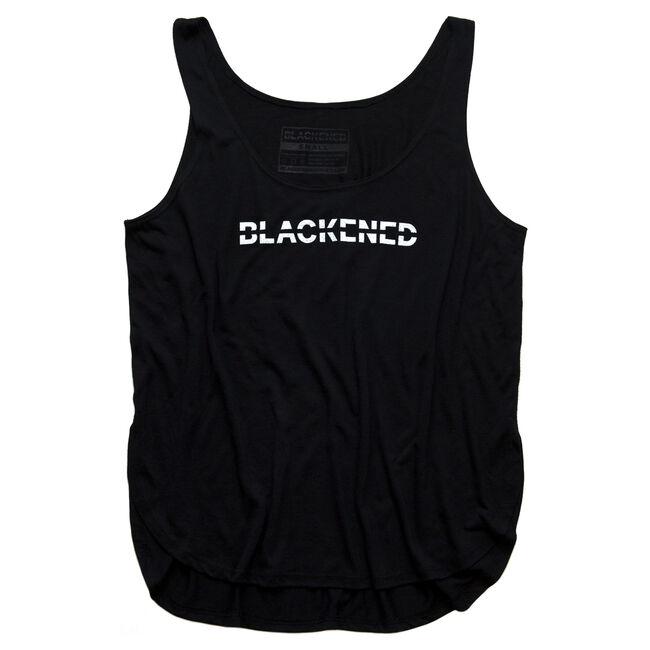 Women's Blackened Whiskey Flowy Slit Tank, , hi-res