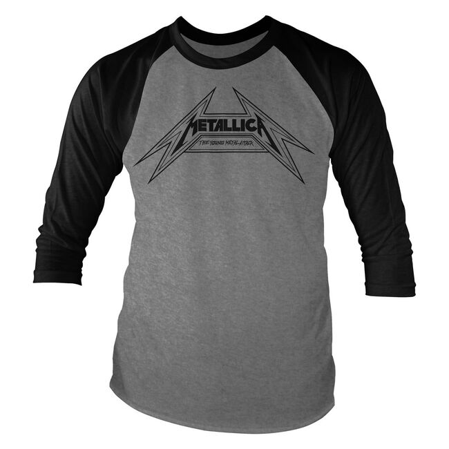Young Metal Attack Raglan Baseball Jersey, , hi-res