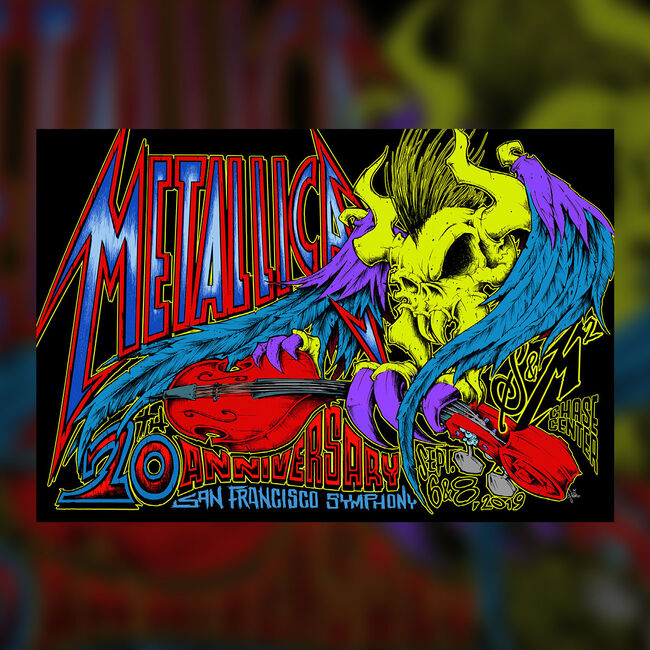S&M² Fillmore Poster   Metallica com