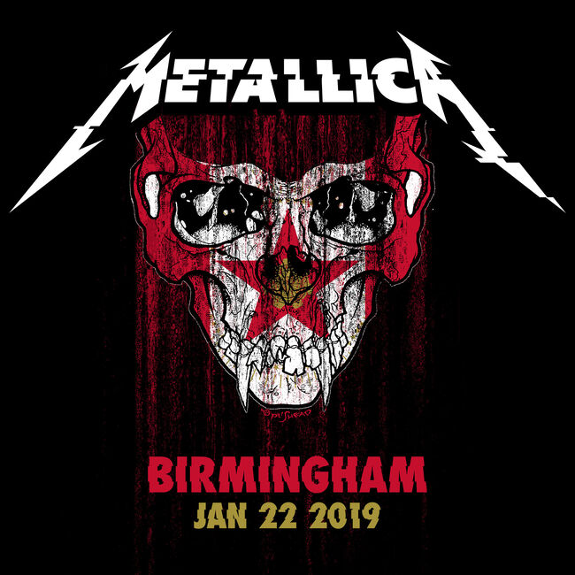 Live Metallica: Birmingham, AL - January 22, 2019 (CD), , hi-res