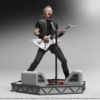 James Hetfield Hardwired Rock Iconz Statue, , hi-res