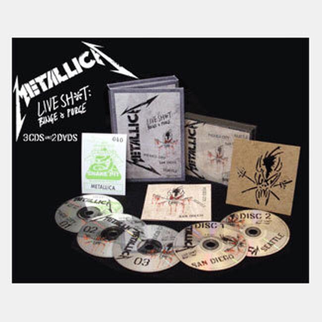Live Shit: Binge & Purge - 3CD/2DVD (DVD Packaging), , hi-res