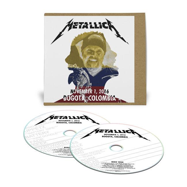 Live Metallica: Bogotá, Colombia - November 1, 2016 (2CD), , hi-res