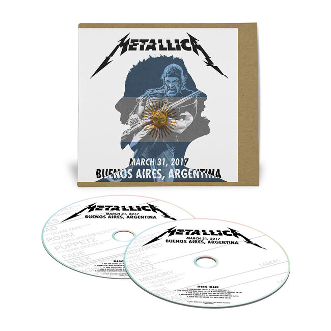 Live Metallica: Buenos Aires, Argentina - March 31, 2017 (2CD), , hi-res