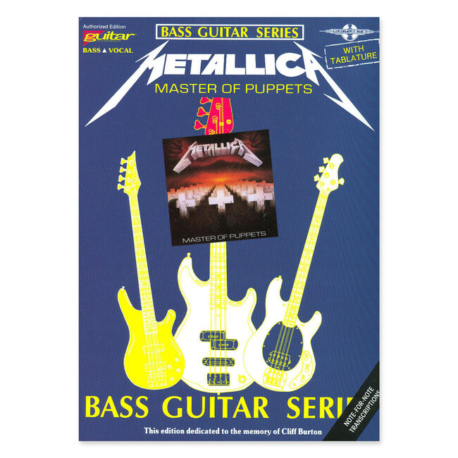 Master of Puppets - Bass Guitar Tablature Book, , hi-res