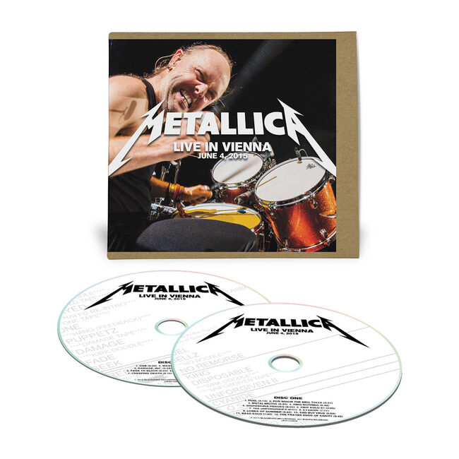 Live Metallica: Vienna, Austria - June 4, 2015 (2CD), , hi-res