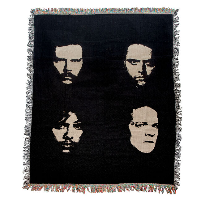 Black Album Four Faces Blanket, , hi-res