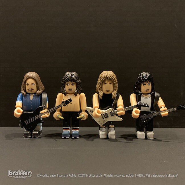 Master Of Puppets Brokker Figure Set, , hi-res