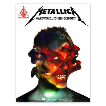 Hardwired...To Self-Destruct - Guitar Tablature Book, , hi-res