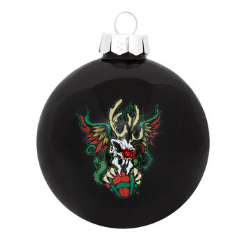 Scary Reindeer Ornament 2020, , hi-res