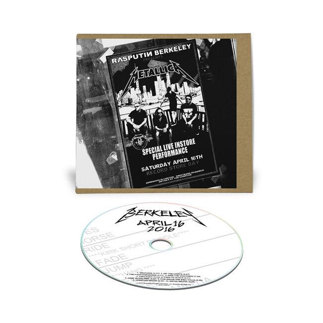Live Metallica: Berkeley, CA - April 16, 2016 (CD), , hi-res