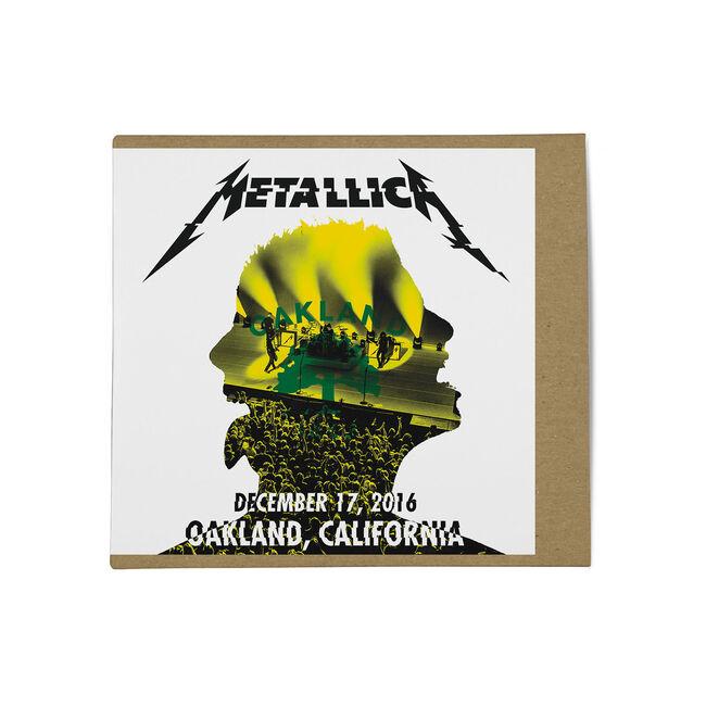 Live Metallica: The Fox Theater in Oakland, CA - December 17, 2016 (2CD), , hi-res