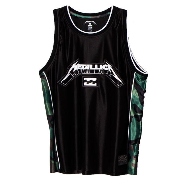 Billabong x Metallica AI Forever Camo Tank, , hi-res