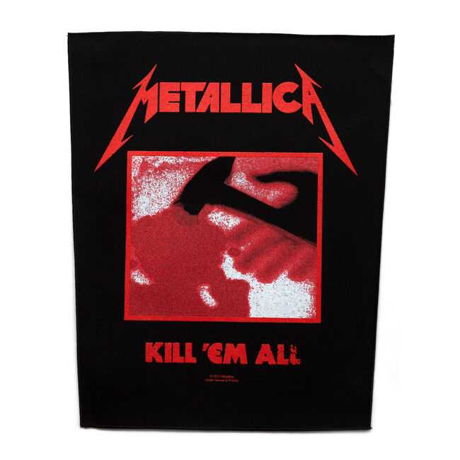Kill 'Em All Back Patch, , hi-res