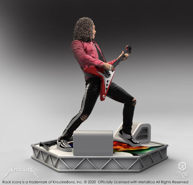 Kirk Hammett Hardwired Rock Iconz Statue, , hi-res