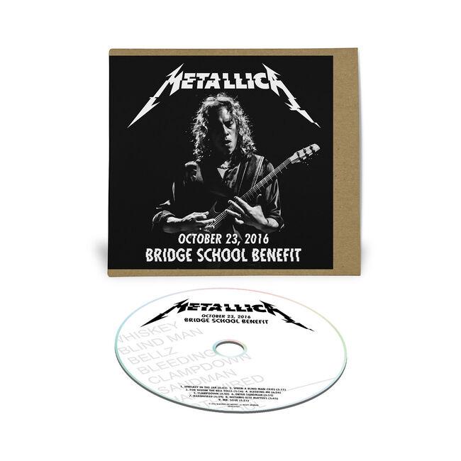 Live Metallica: Bridge School Benefit in Mountain View, CA - October 23, 2016 (CD), , hi-res