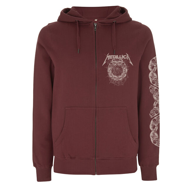 The Struggle Within Full-Zip Hoodie (Burgundy), , hi-res