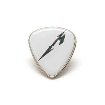 Glitch M Logo Guitar Pick Pin, , hi-res
