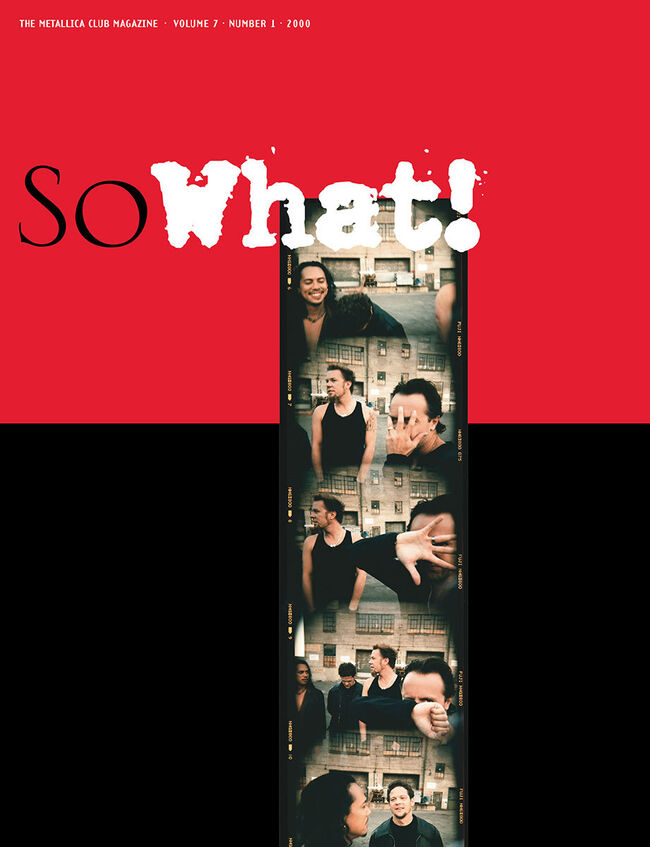 So What! Volume 7, Issue 1, , hi-res