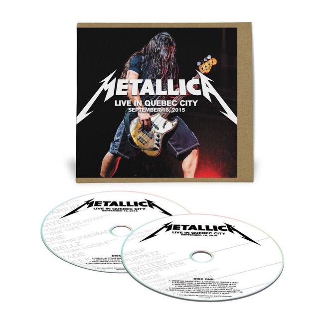 Live Metallica: Quebec City, Canada - September 16, 2015 (2CD), , hi-res