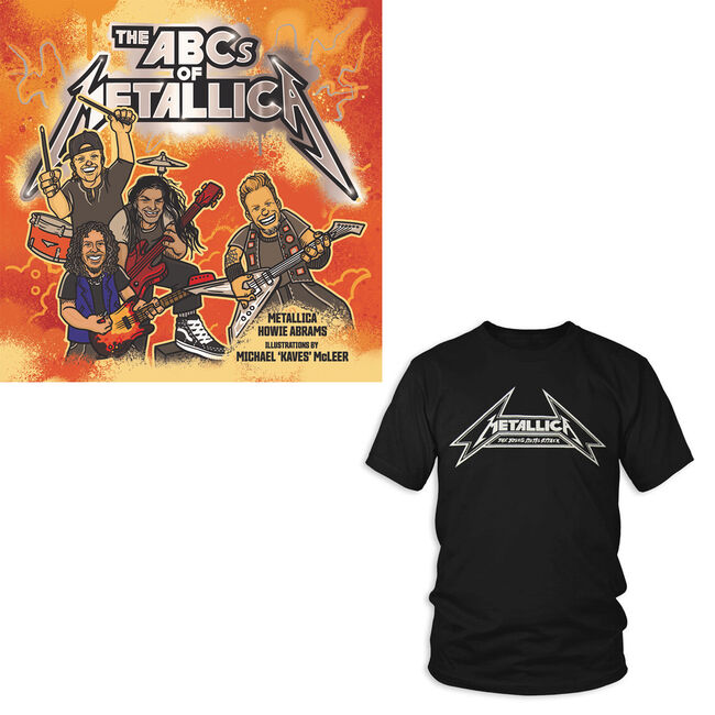 The ABCs of Metallica & Men's Shirt Bundle, , hi-res