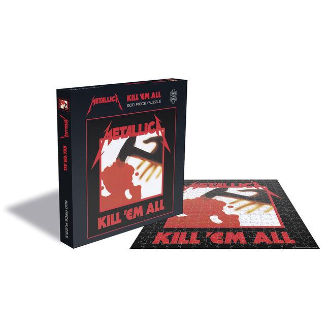 Kill 'Em All 500pcs Jigsaw Puzzle, , hi-res