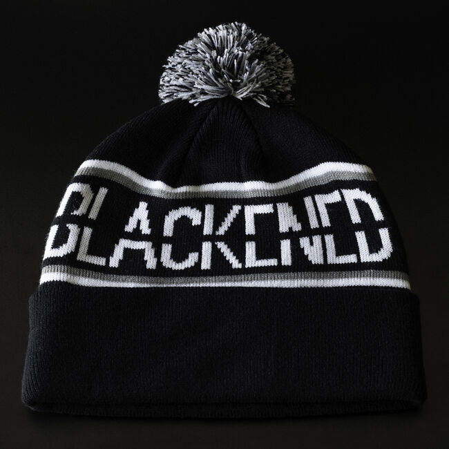 Blackened Whiskey Pom Beanie, , hi-res