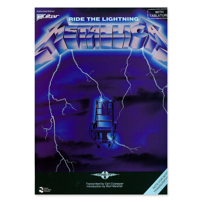 Ride the Lightning - Guitar Tablature Book, , hi-res