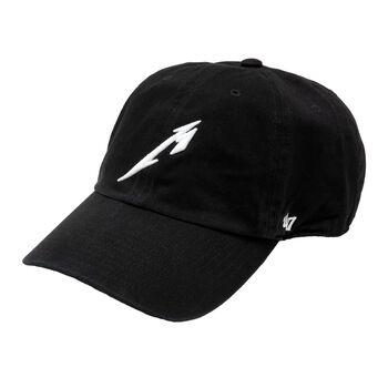 M Logo Garment Wash Hat, , hi-res
