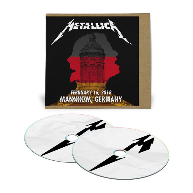 Live Metallica: Mannheim, Germany - February 16, 2018 (2CD), , hi-res