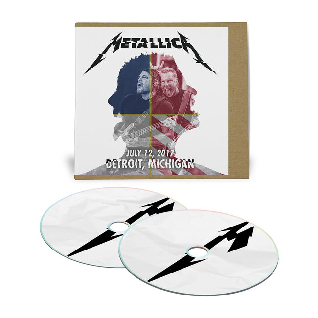 Live Metallica: Detroit, MI – July 12, 2017 (2CD), , hi-res