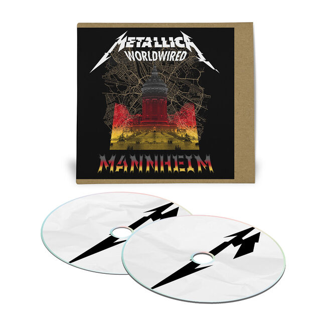 Live Metallica: Mannheim, Germany - August 25, 2019 (2CD), , hi-res