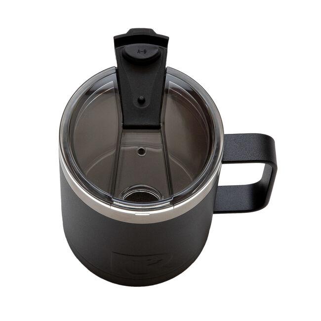 RTIC Black Matte Travel Mug 12oz, , hi-res