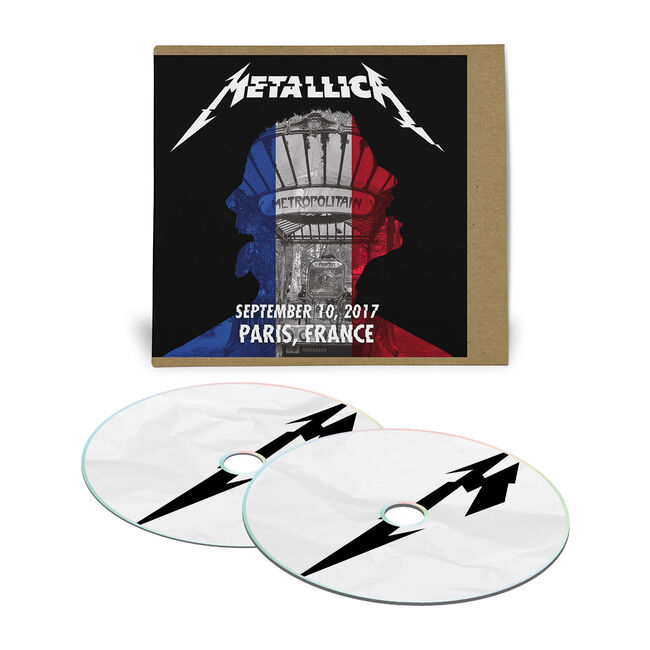 Live Metallica: Paris, France - September 10, 2017 (2CD), , hi-res