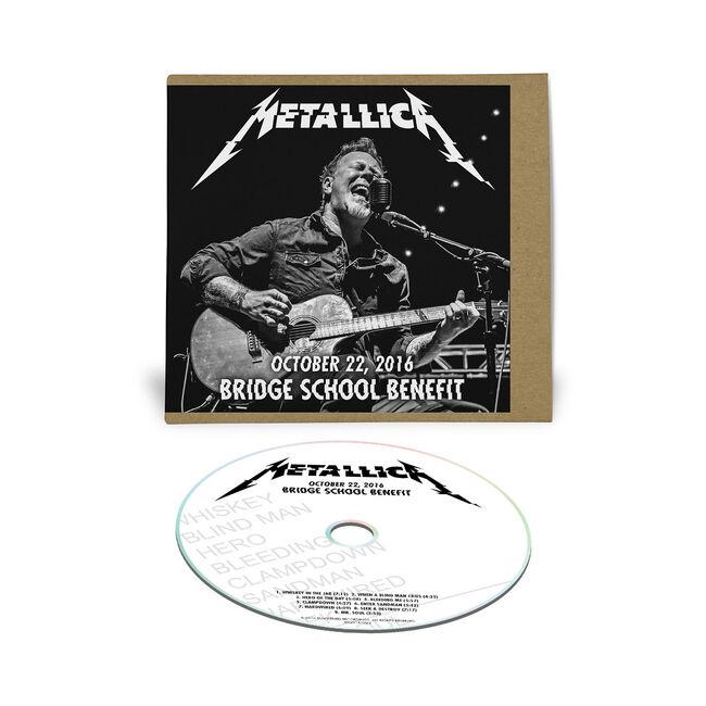 Live Metallica: Bridge School Benefit in Mountain View, CA - October 22, 2016 (CD), , hi-res