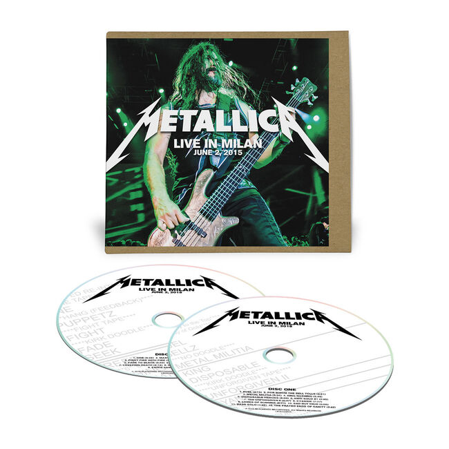 Live Metallica: Milan, Italy - June 2, 2015 (2CD), , hi-res