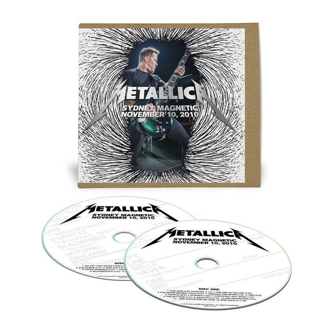 Live Metallica: Sydney, Australia - November 10, 2010 (2CD), , hi-res
