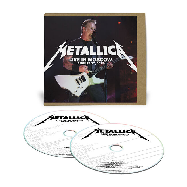 Live Metallica: Moscow, Russia - August 27, 2015 (2CD), , hi-res