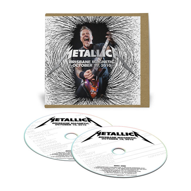 Live Metallica: Brisbane, Australia - October 19, 2010 (2CD), , hi-res