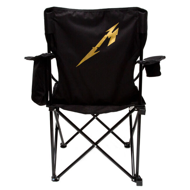 Skull Captain's Chair with Cooler Arm Rest Pouch, , hi-res