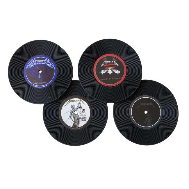 Vinyl Record Coaster Set, , hi-res